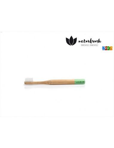 Naturbrush cepillo dental infantil verde extra suave