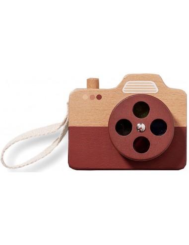 PETIT MONKEY cámara de fotos marrón