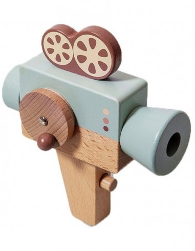PETIT MONKEY cámara de video de madera