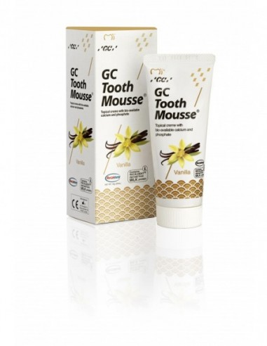 GC Tooth Mousse sabor vainilla 40 g